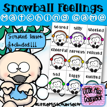 Snowball Feelings:  Scripted Lesson on Fairness & Cooperation with Matching Game