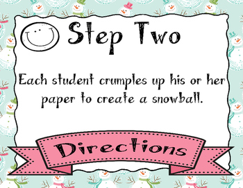 Snowball Fight!!! 6/8 Time Rhythm Reading Game