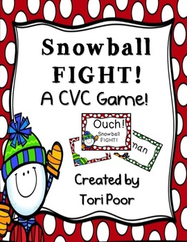 Snowball Fight! A CVC Game!