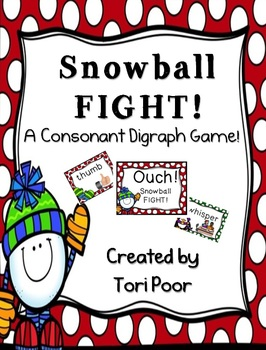Snowball Fight! A Consonant Digraph Game!