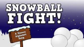 Snowball Fight! [A Snowy Alphabet Song] (video)