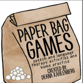 Paper Bag Games: Snowball Fight!