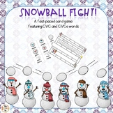 Snowball Fight {A fast paced CVCe Word Game}
