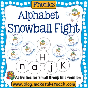 Alphabet- Snowball Fight