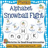 Alphabet- Snowball Fight