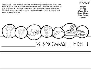 Snowball Fight Articulation Headbands
