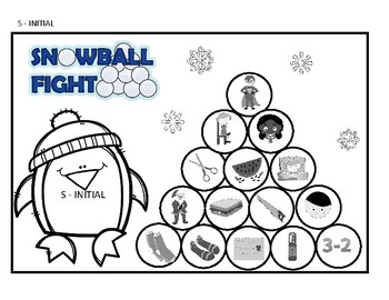 Snowball Fight - Articulation - Later Developing Sounds