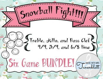 Snowball Fight!!! BUNDLE - All Six Games