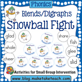 Blends and Digraphs Snowball Fight