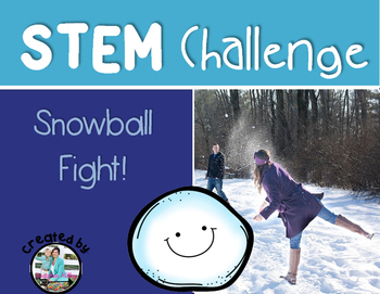 Snowball Fight Catapult STEM Engineering Challenge