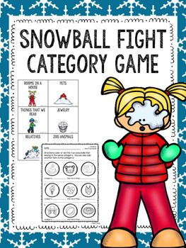 Snowball Fight Category Game