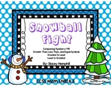 Snowball Fight- Comparing Numbers 1-99