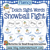 Sight Words - Dolch Sight Words Snowball Fight
