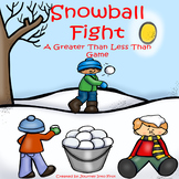 Snowball Fight Greater Than Less Than Game