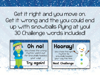 Interactive PDF - Snowball Fight Winter-themed Rhythm Game