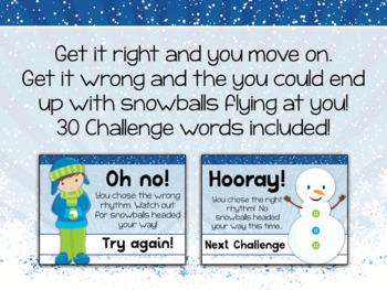 Interactive Rhythm Game - Snowball Fight Winter-themed Rhythm Game