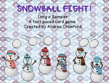 Snowball Fight Long a Game Freebie