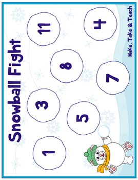 Missing Addends - Snowball Fight