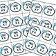 Snowball Fight 3 digit by 1 digit Multiplication Game Freebie