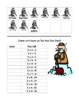 Snowball Fight Multiplication Games