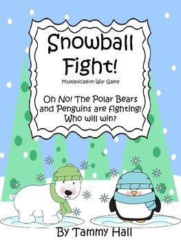 Snowball Fight! Multiplication War