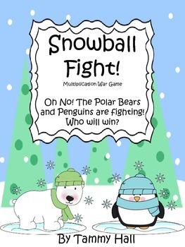 Snowball Fight! Multiplication War
