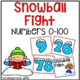 Snowball Fight:  Numbers 0-100