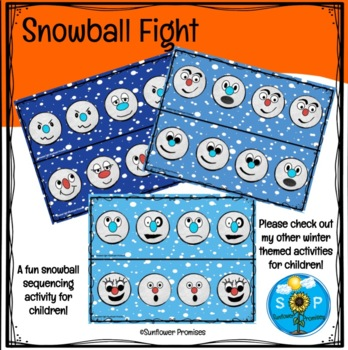 Snowball Fight - Pattern, Sequence and Matching Activity
