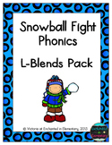Snowball Fight Phonics: L-Blends Pack
