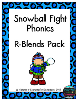 Snowball Fight Phonics: R-Blends Pack