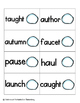 Snowball Fight Phonics: Vowel Digraphs and Diphthongs Pack