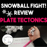 Snowball Fight! Review Game for Plate Tectonics