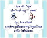 """Snowball Fight!!! Short and Long """"i"""" 3 in 1"""