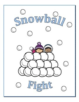 Snowball Fight Ten Frame Game
