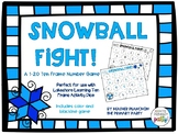 Snowball Fight Ten Frame Game