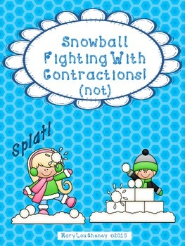 Snowball Fight With 'Not' Contractions