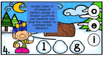 Snowball Fight with Medial Sounds Digital Center (Compatible with Google Apps)