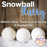 Snowball Flurry!  A Collection of Melodic Games: Bundle of all Games