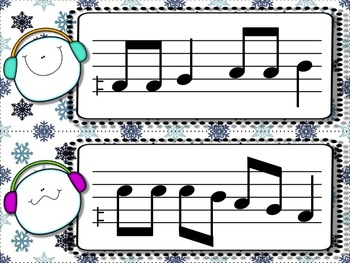 Snowball Flurry!  A Collection of Melodic Games for Practicing fa
