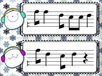 Snowball Flurry!  A Collection of Melodic Games for Practicing high do