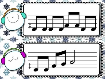 Snowball Flurry!  A Collection of Melodic Games for Practicing low la