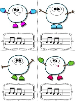 Snowball Flurry!  A Collection of Melodic Games for Practicing re (m-r-d only)
