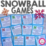 Snowball Games - Classroom Games and Holiday Activities