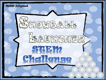 Snowball Launcher STEM challenge