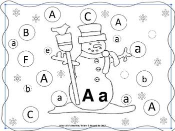 Snowball Letter Match