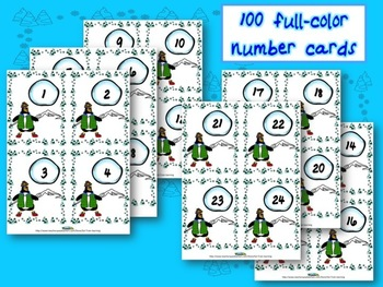 Penguin Math Games