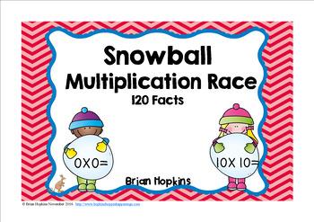 Snowball Multiplication Race