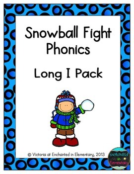 Snowball Fight Phonics: Long I Pack