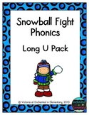 Snowball Fight Phonics: Long U Pack