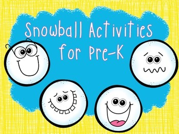 Snowball Pre-K Fun